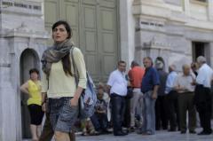 """En Grecia hay un """"corralito"""" que apoya la población"""