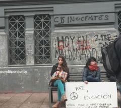 Estudiantes marcharon contra la represión y por la educación