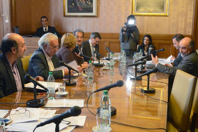 Comisión investigadora ANCAP. adhocfotos