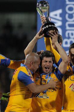 "Tigres del ""Cacha"" conquista el Apertura mexicano. EFE"