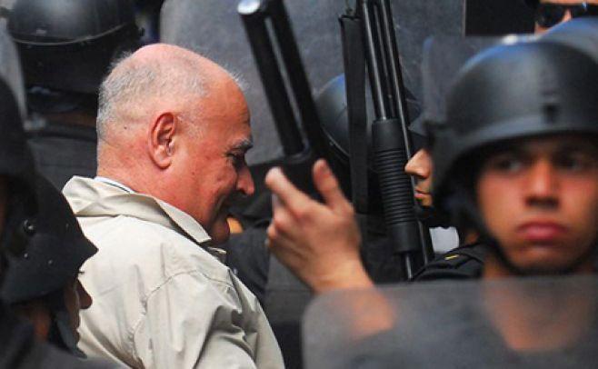 Escrache a Gavazzo en protesta por prisión domiciliaria