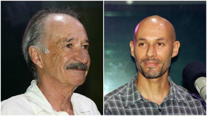 Daniel Panario y Luis Aubriot. Natalia Gemelli