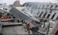Las ruinas del terremoto en Taiwán a vista de drone