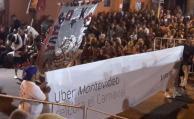 Intendencia y Policía sacaron banderas de Uber a comparsas
