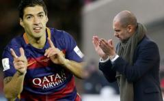 Guardiola quiere a Suárez para el Manchester City