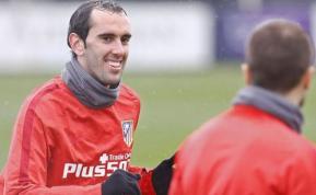 Godín vuelve a los entrenamientos del Atlético