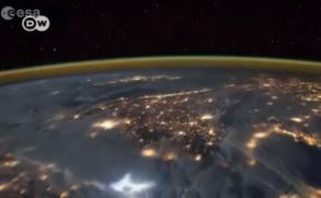 Así se ve la Tierra desde la Estación Espacial Internacional