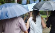 Advertencia amarilla por lluvias para tres departamentos