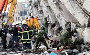 Las cifras que dejó el terremoto en Taiwán