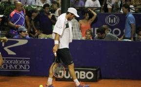 Cuevas, derrotado en cuartos ante Ferrer