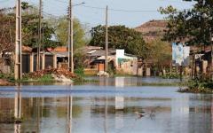 Unos 65.500 paraguayos, desplazados por las inundaciones