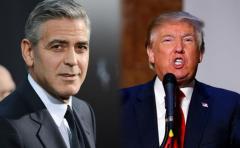 "George Clooney llama ""fascista xenófobo"" a Donald Trump"