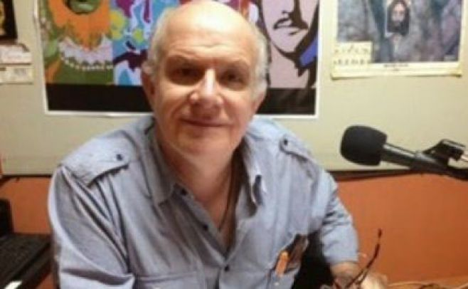 Carlos Valverde, periodista boliviano..