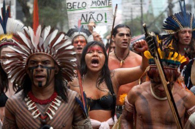 Protesta Belo Monte. ©+Verde Digital