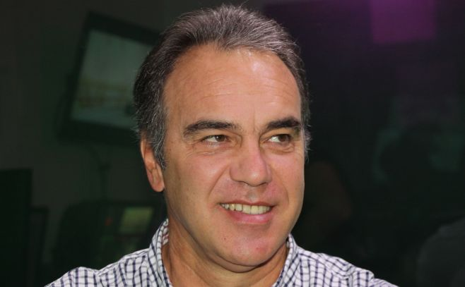 Martín Lasarte, entrenador de fútbol..