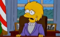 Los Simpsons ya habían imaginado a Trump presidente