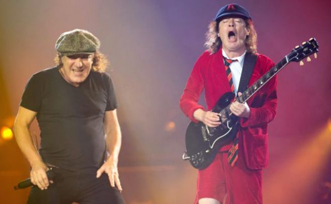 "Brian Johnson, ""destrozado"" por tener que dejar AC/DC"