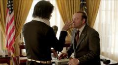 El encuentro entre Nixon y Elvis en 1970 llega al cine
