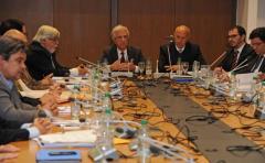 Vázquez anuncia avance en acuerdos de seguridad con partidos