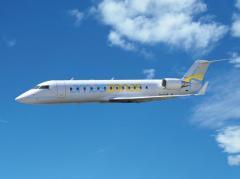 Amaszonas quedó habilitada para realizar la ruta Montevideo-Buenos Aires y ya pinta el avión