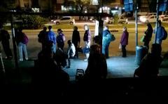 Sábado de noche ya sin servicio de ómnibus por feriado del 1º de mayo