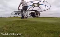 Crean una bicicleta voladora en el Reino Unido