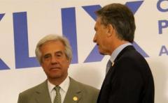 Macri y Vázquez podrían volver a reunirse en julio en Montevideo
