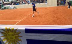 Cuevas también se impuso en dobles del Roland Garros