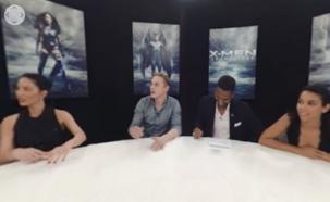 Mirá la entrevista en 360 grados al elenco de X-Men