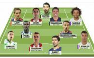 """Suárez y Godín, en el """"once"""" ideal de la Champions"""