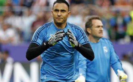 Keylor Navas se lesionó y complica a Costa Rica