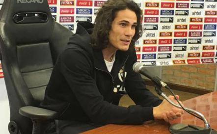 """Cavani: """"Lo encaramos como una Copa del Mundo"""""""