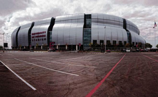 Así es el estadio en que debutará la Celeste en Phoenix