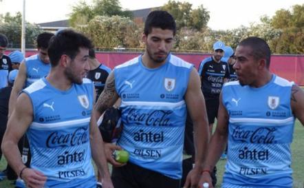 Luis Suárez corre en solitario por primera vez