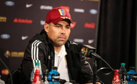 El técnico de Venezuela sabe lo que es Uruguay