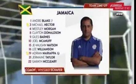Nuevo error: confunden DT jamaiquino con paraguayo
