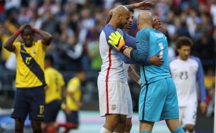 EEUU a semifinales por segunda vez en su historia
