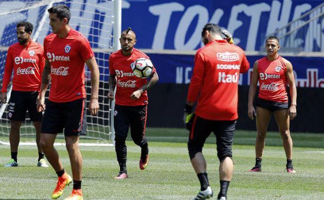 """Vidal: Chile llega """"muy bien"""" a la final"""