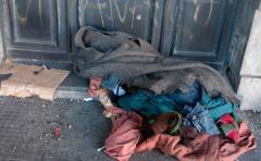 Falleció de hipotermia hombre de 45 años en situación de calle