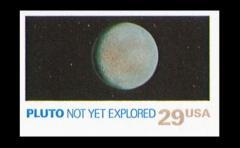 El sello postal que viajó hasta Plutón y logró récord mundial