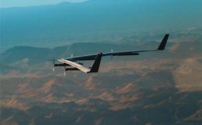 Facebook presenta con éxito drone que ofrece Internet gratis