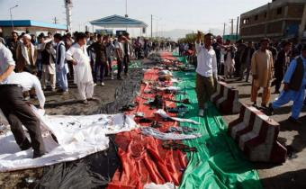 El ataque más brutal reclamado por el EI fue en Kabul