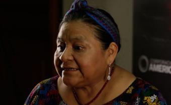 """Rigoberta Menchú preocupada por la """"criminalización"""" de las mujeres"""