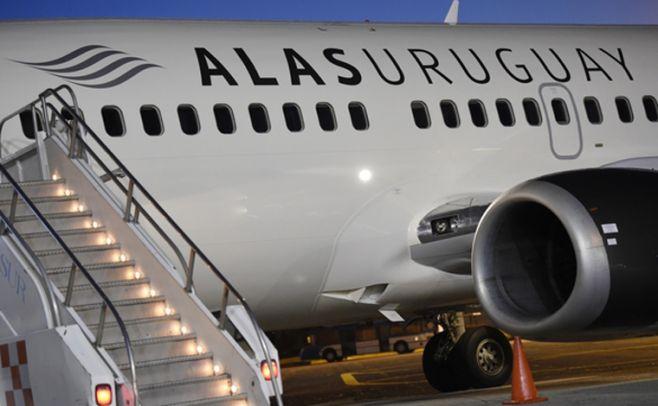 Alas Uruguay analiza suspender todos los vuelos comerciales