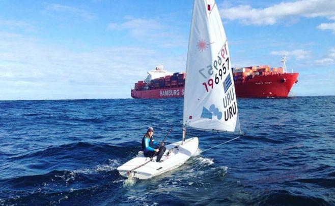 Lola recibe su embarcación oficial en Río de Janeiro