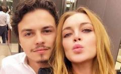 Escandalosa pelea entre Lindsay Lohan y su novio