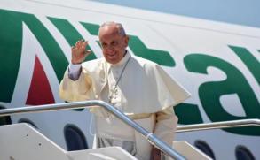 El papa Francisco dice que el mundo está en guerra