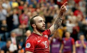 Un gol de fútbol de salón entre los mejores de Europa