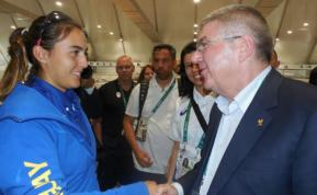 COI saludó a la delegación uruguaya en Villa Olímpica