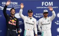 Rosberg delante de Hamilton en otra primera fila de Mercedes